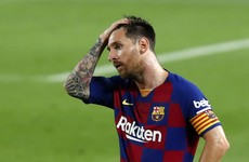 Messi lambasts 'very weak' Barca after Real Madrid clinch La Liga title