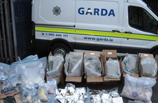 Man arrested in connection with the seizure of €2.5 million worth of drugs in Kingswood, Dublin