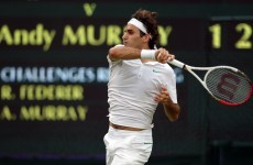 VIDEO: The two Federer shots that have the tennis world buzzing