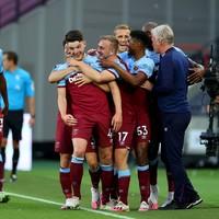 Declan Rice scores as Hammers open gap on Watford