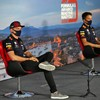 Verstappen hits back after Russell claims Red Bull are making Albon 'look like an idiot'