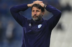 Huddersfield Town sack Danny Cowley after 10 months in charge