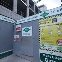 Dublin construction site closes after over 20 workers test positive for coronavirus