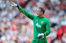 Former Manchester United goalkeeper scores 90th-minute equaliser in Sweden