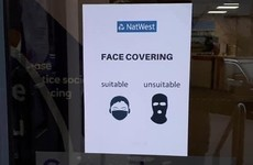 FactCheck: Did a Belfast bank post a notice describing balaclavas as 'unsuitable' face coverings?