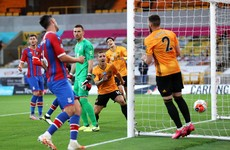 Doherty tees up opener as Wolves leap over Spurs with Palace win