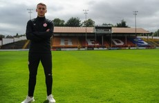 Shels sign Ireland youth star Brian McManus
