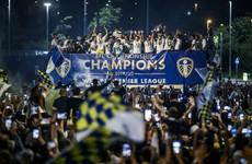 Leeds United defend open-top bus celebration outside Elland Road