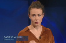 Saoirse McHugh has left the Green Party