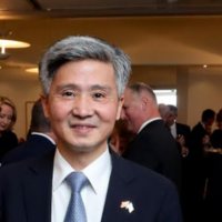 Chinese ambassador to Ireland claims footage of blindfolded, cuffed Uighur Muslims is 'fabricated'