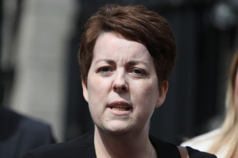 Ruth Morrissey outside the High Court in 2019.