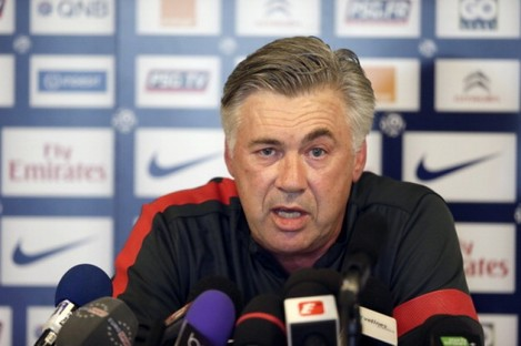 Carlo Ancelotti: in the market for new signings this summer.