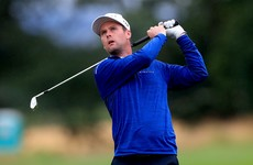 Down native Jonathan Caldwell five off lead at British Masters