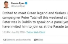Debunked: No, Eamon Ryan did not call Peter Tatchell a 'green legend and tireless LGBT campaigner'