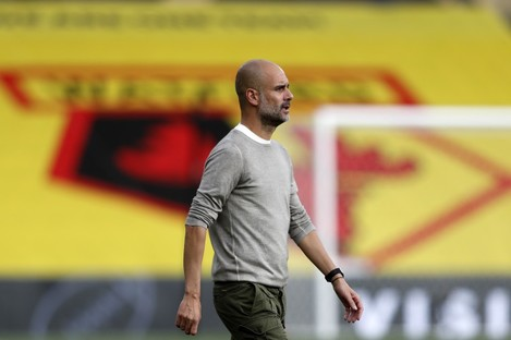 Pep Guardiola wants his players to avoid complacency.