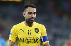 Barca legend Xavi tests positive for COVID-19
