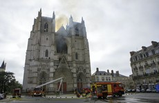 Church volunteer charged in France over arson attack on Nantes cathedral
