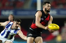 Brilliant run and solo from Conor McKenna a highlight in Essendon's win in AFL
