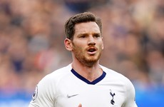 Tottenham defender Vertonghen confirms departure after eight-year stay