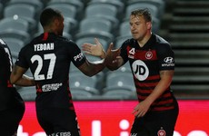Football returns for ex-Ireland striker with 88th-minute equaliser in the A-League