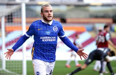 Ireland's Aaron Connolly earns new four-year contract with Brighton