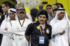 Diego Maradona sacked by UAE side Al Wasl