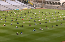 Muslims pray at Croke Park for the first time in celebration of Eid al-Adha