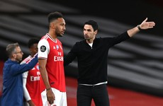 Arteta hoping FA Cup triumph can persuade star striker Aubameyang to stay at Arsenal
