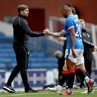 Gerrard tells Rangers forward Morelos he's 'nowhere near' exit as Lille prepare fresh bid
