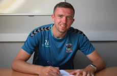 Coventry City midfielder with Ireland ambitions earns new two-year deal