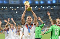 Germany World Cup winner retires at 32