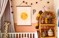 Get The Look: 6 high-street buys to recreate Rachel's two-tone nursery