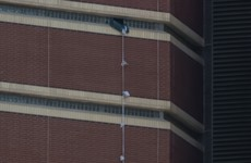 Oklahoma murder suspect escapes from 12th floor cell using sheets