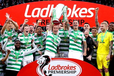 Celtic are aiming for a historic 10th successive league title.