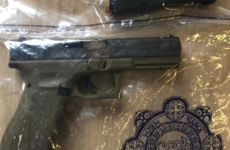 Gardaí seize Glock pistol and loaded clip during search of car in Dublin