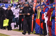 Philadelphia Eagles head coach tests positive for Covid-19