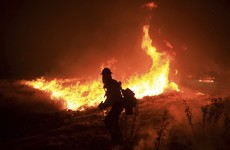Wildfire in California mountains was caused by malfunctioning diesel vehicle, officials say
