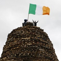 Twelfth bonfires to be lit tonight as parade tension rises