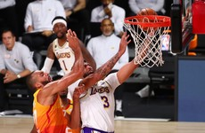 Davis follows in Kobe's footsteps and LeBron also stars as Lakers clinch top spot in the West