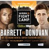 IBF intercontinental title on the line as Eric Donovan's big night gets even bigger