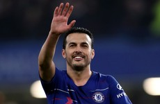 Pedro bids early farewell to Chelsea after undergoing surgery