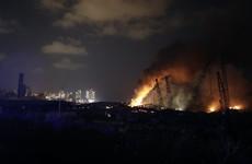 Large explosion rocks Beirut