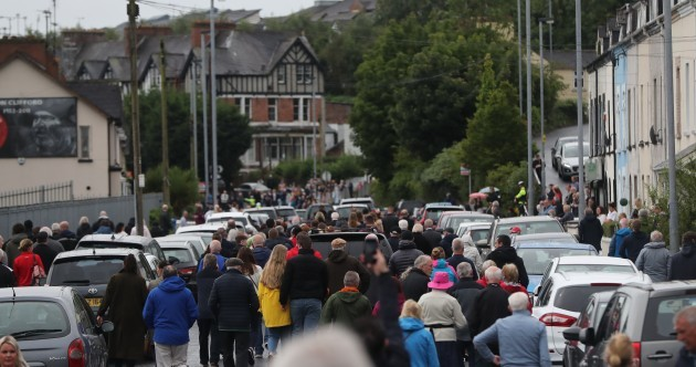 'He was Ireland's Martin Luther King': Derry and Ireland say goodbye to John Hume