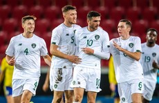 Troy Parrott lands FAI's International Goal of the Year for this strike against Sweden