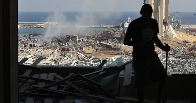 In pictures: The aftermath of the massive Beirut explosions
