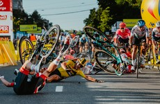 Fabio Jakobsen fighting for his life after horrific crash at Tour of Poland