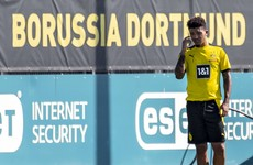 Dortmund claim Man United have made 'no contact' about Sancho transfer
