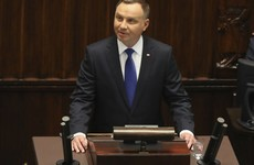 Opponents boycott ceremony as Poland's president sworn in for second term