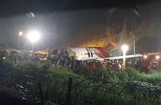 Air India flight from Dubai carrying 185 passengers crash lands at Calicut airport