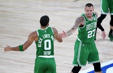 Celtics rip Raptors as Nets and Magic grab NBA playoff spots